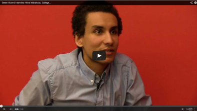 Mina Makarious Green Alumni Video