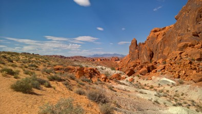 The Valley of the Fire, Nevada. Photo by Martin Greenup