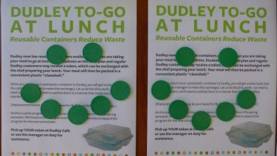 Dudley reusable container program