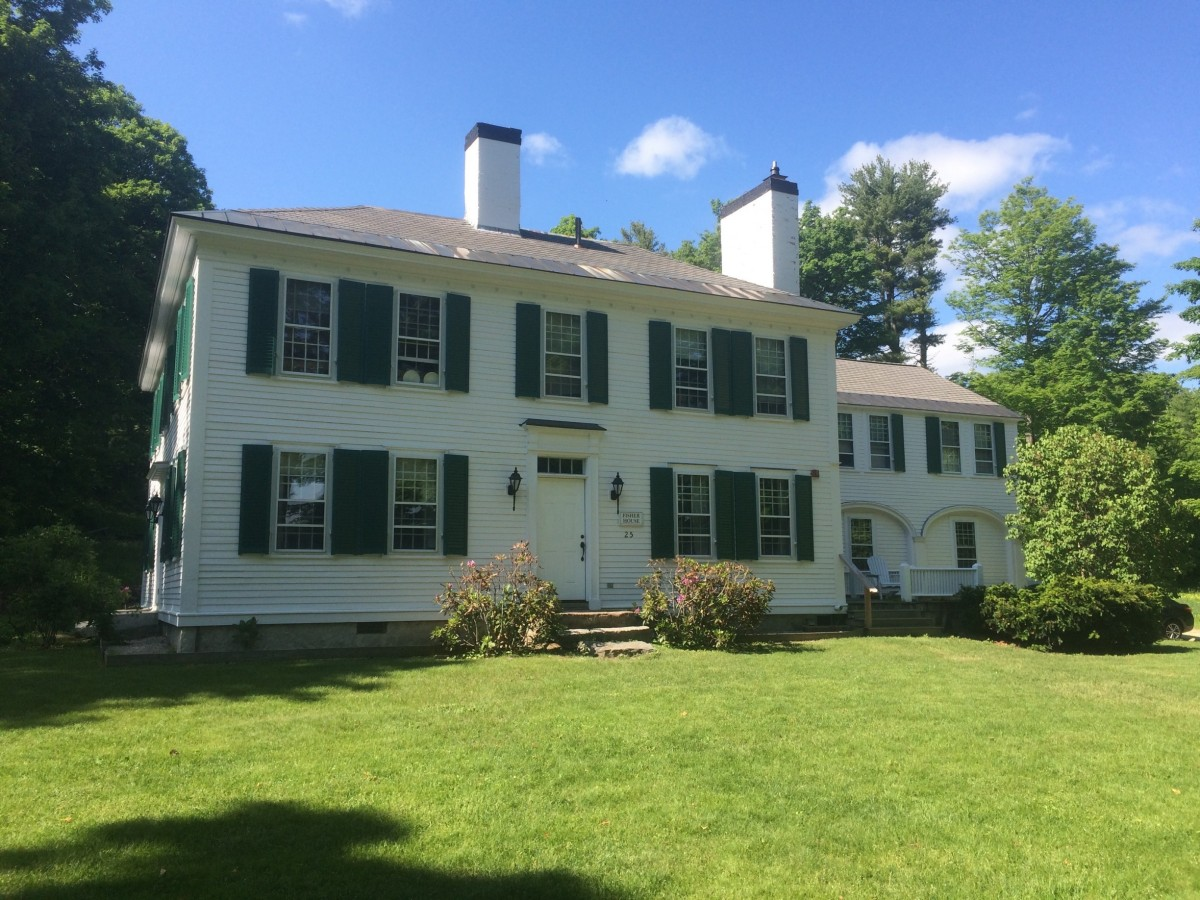 The Fisher House: Home at the Harvard Forest for the summer.
