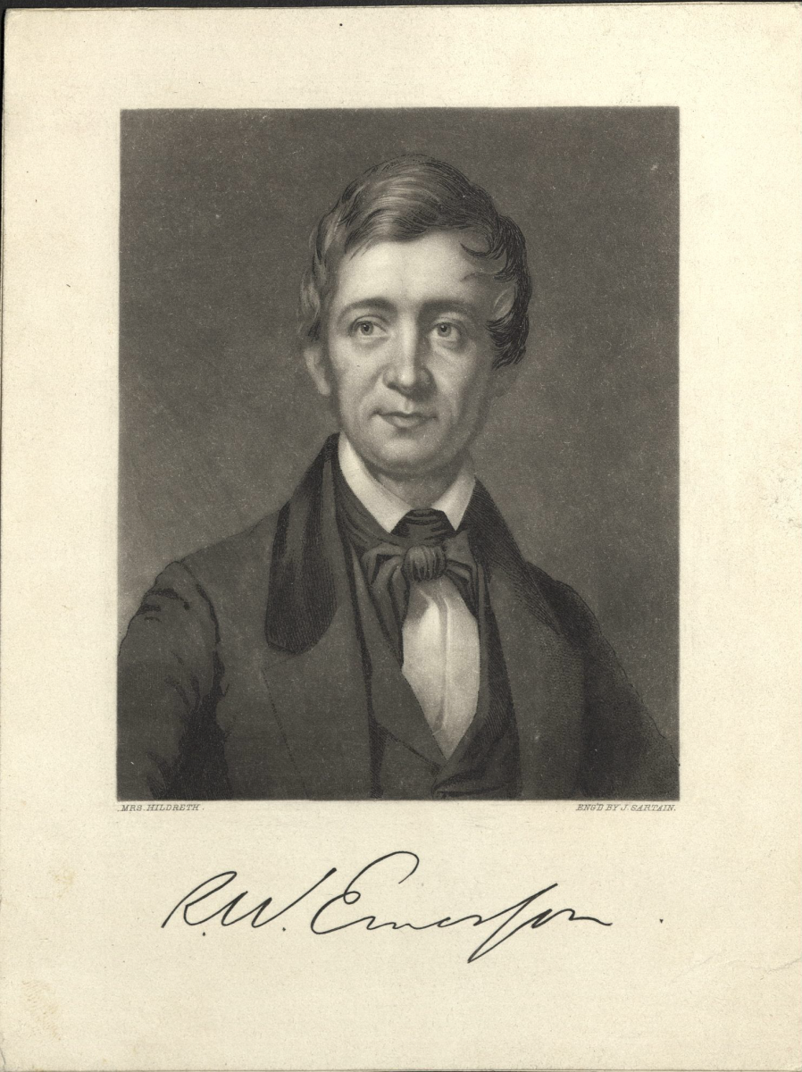 Harvard University Archives, HUP Emerson, R.W. (7).