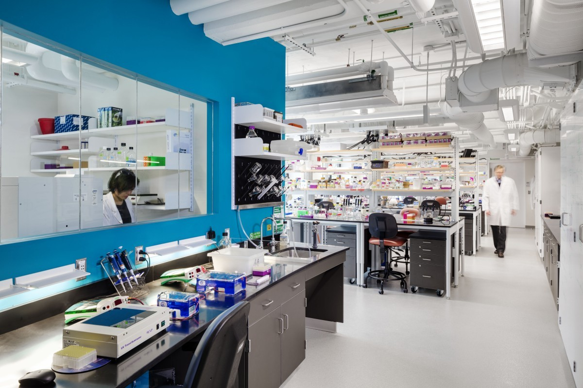 Extavour Laboratory. Perkins+Will/Greg Premru Photography, 2016