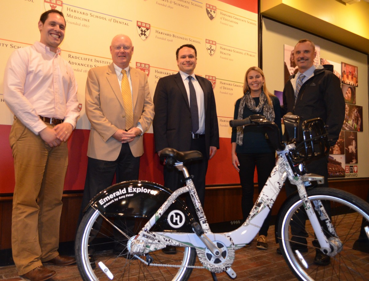Harvard employee Amy Fater won the Hubway design competition with her Emerald Explorer design