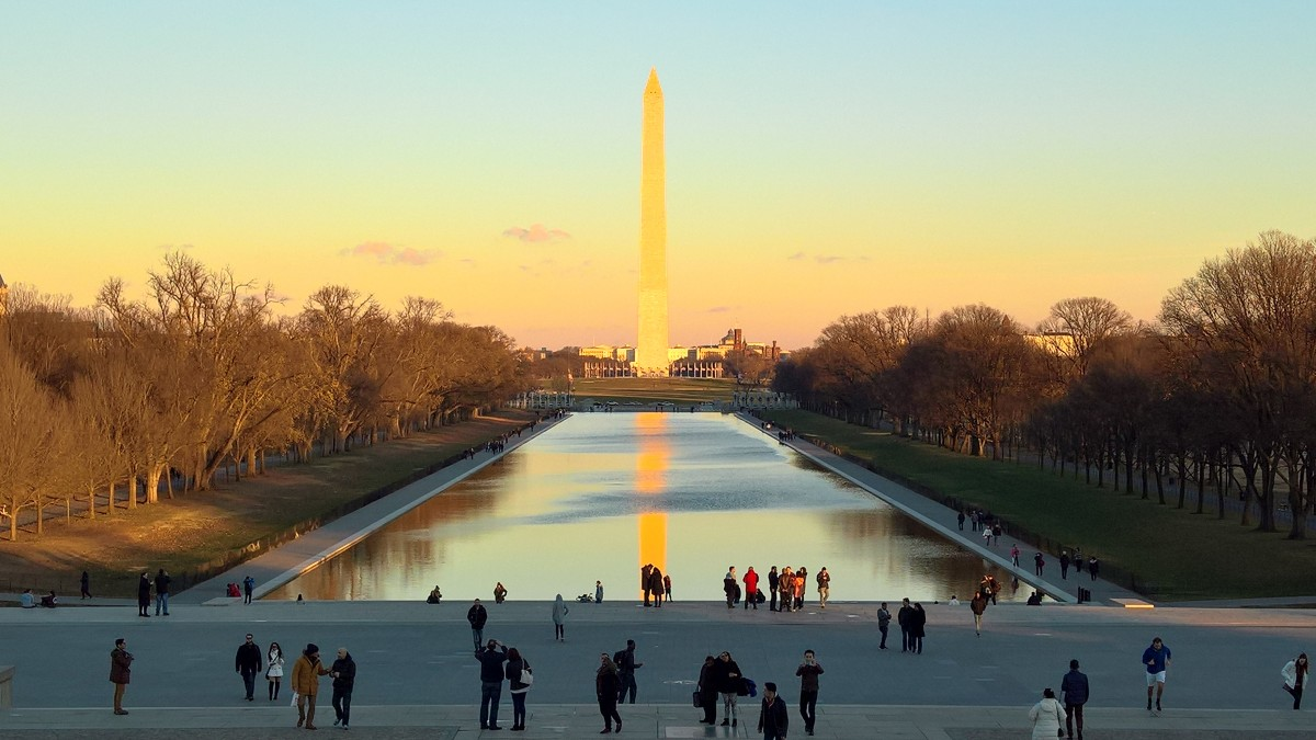 The National Mall, Washington DC. Photo by Martin Greenup