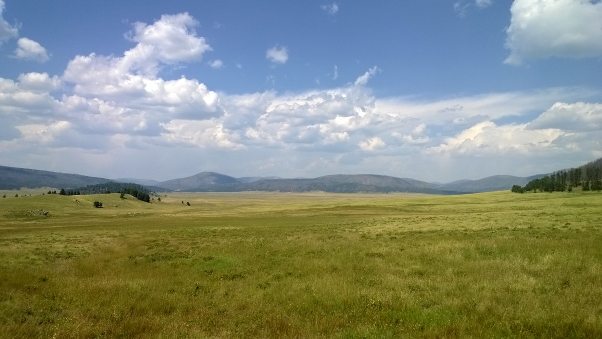 The Valles Caldera, New Mexico. Photo by Martin Greenup