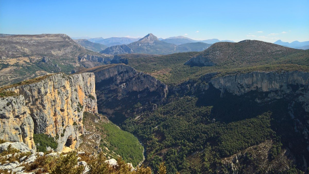 The Verdon Gorge, France. Photo by Martin Greenup
