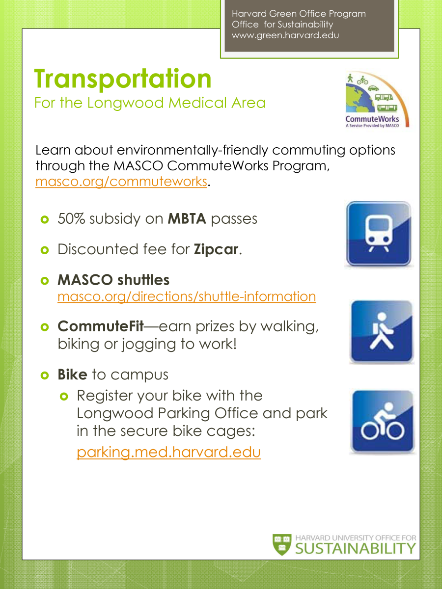 Transportation for the Longwood Medical Area