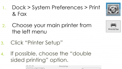 Double-sided Printing for Windows Computers | Sustainability