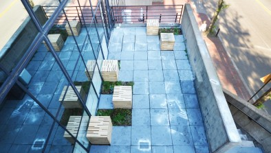 Stormwater Management on the GSD roof