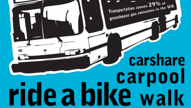 Green Commuting Poster