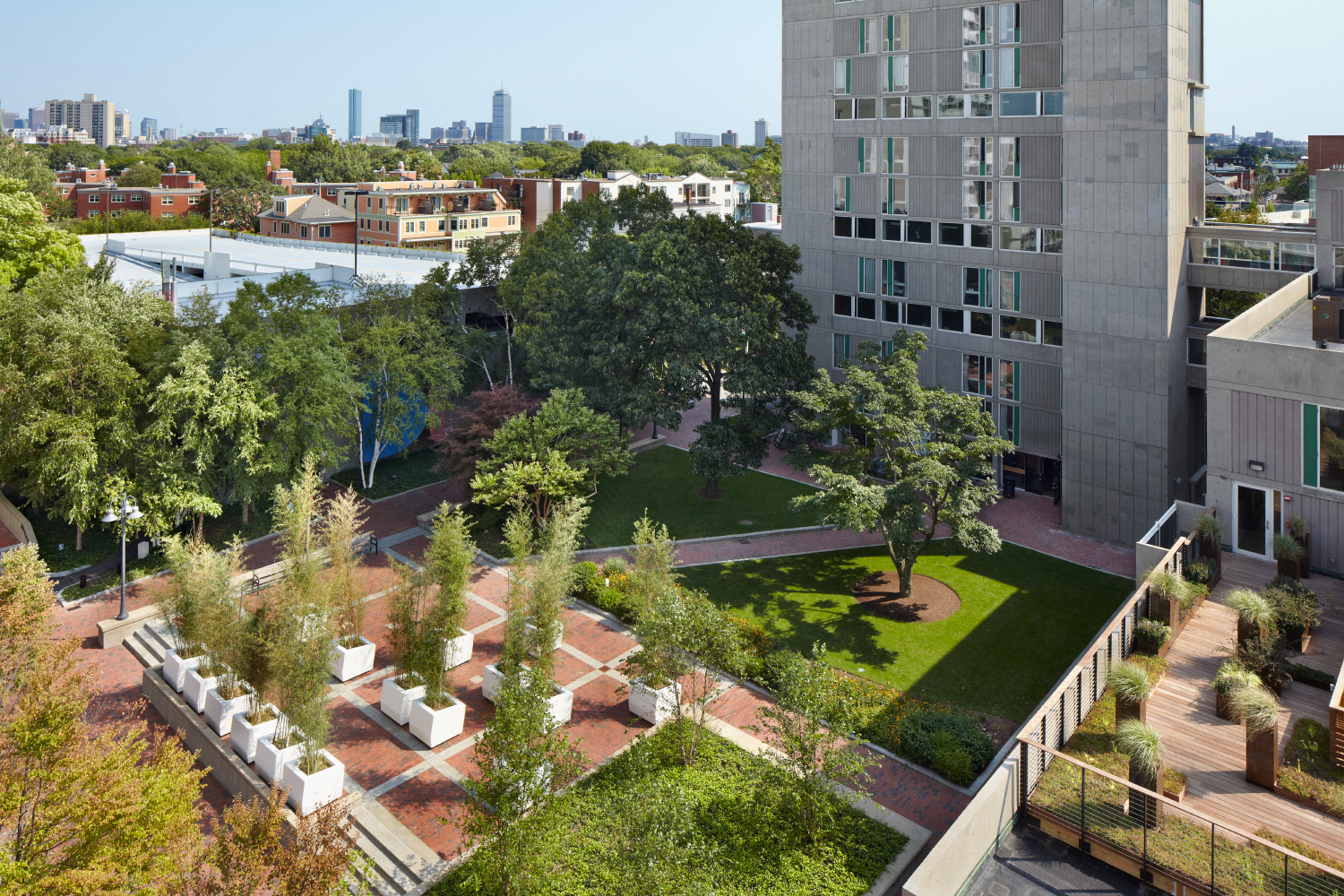 Hre Peabody Terrace Graduate Commons Sustainability At