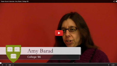 Amy Barad Green Alumni Video