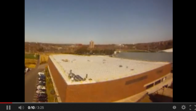 Time Lapse of Solar Array