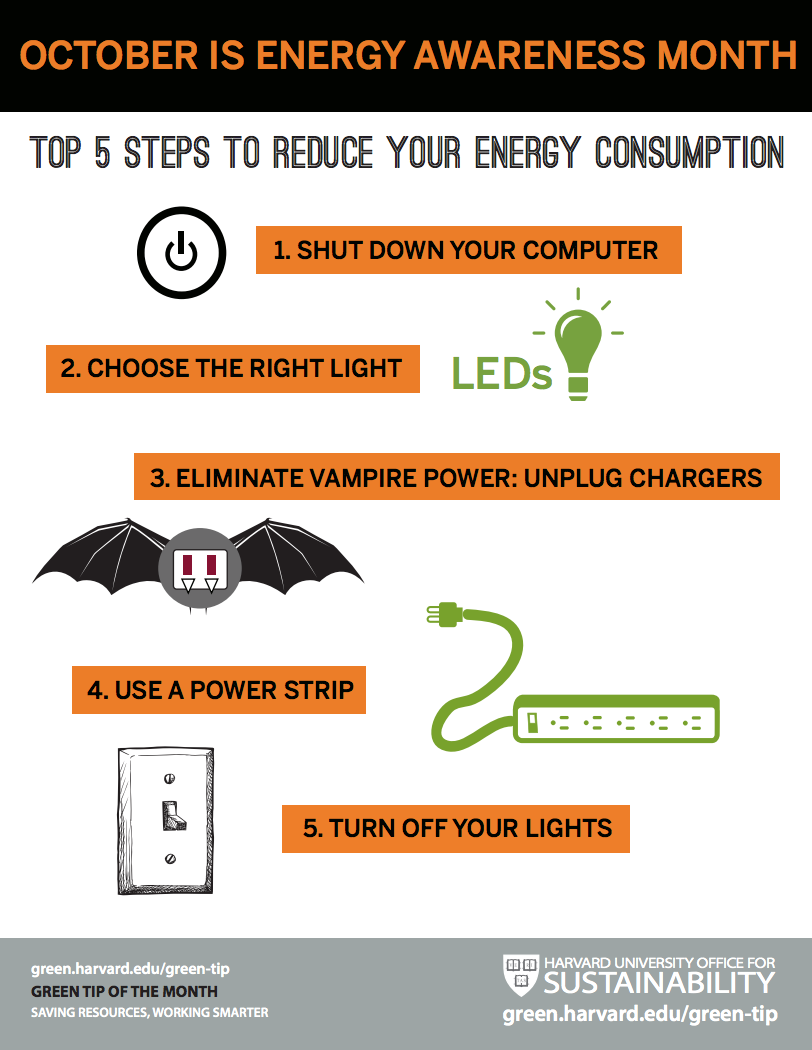 Top 5 Steps To Reduce Your Energy Consumption Sustainability At Harvard