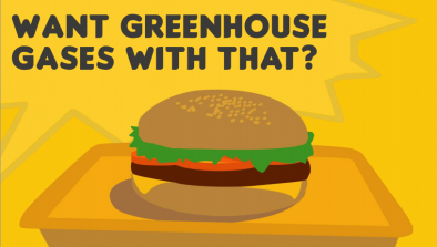 Want Greenhouse Gases with that?