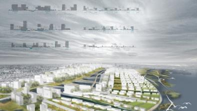 GSD students imagine the Flux City.