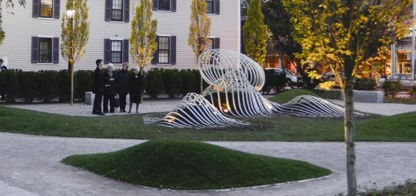 Saturate the Moment sculpture